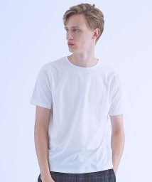 ABAHOUSE/【COTTON LYCRA】圧着クルーネックTシャツ/501166290