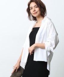 ROPE' mademoiselle/【2WAY】タイプライターシャツ/501166682