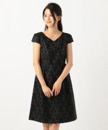 anySiS/レディジャガード ワンピース ドレス/501167529