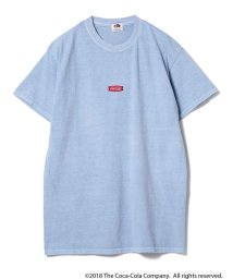 BEAMS OUTLET/Coca Cola / Pigment Front Logo T-shirt/501055754