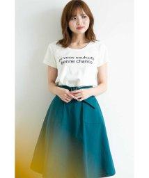 PROPORTION BODY DRESSING/ラウンドネックTシャツ/501138330