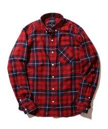 BEAMS MEN/BEAMS / インディゴチェック ミニボタンダウンシャツ/501141627