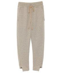 styling//Lame fleece pants/501159338