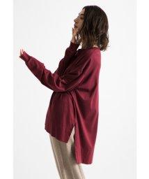 styling//Slit loose t-shirt/501159364