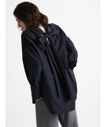 styling//Back ribbon blouse/501159384