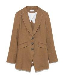 styling//Peaked lapel jacket/501159411