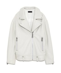 styling//Whiter riders jacket/501159416