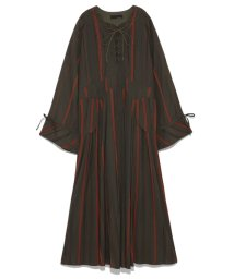 styling//Lace-up long onepiece/501159441