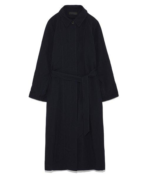 スタイリングStain collar shirt one pieceレディースNVYF【styling/】