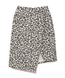 styling//Leopard Semitite Wrap Skirt/501159488