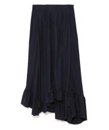 styling//Irregular hem long skirt/501159495