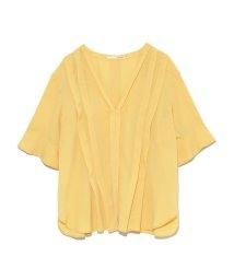 styling//V neck tack blouse/501159512