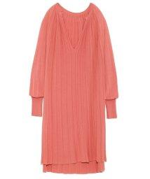 styling//Knit pleat tunic dress/501159544