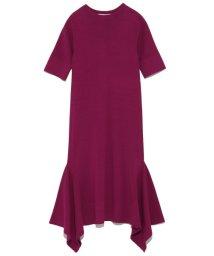 styling//Hem flare knit one piece/501159545