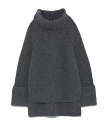 styling//Rib knitting Turtle knit/501159570