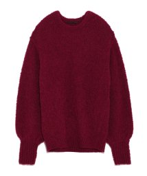 styling//Boucle knit pullover/501159580