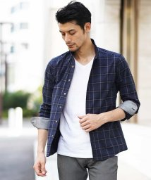 MICHEL KLEIN HOMME/シャツ(クールマックスサッカー)/501167708