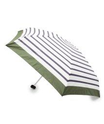 grove/トートバッグボーダー晴雨兼用折り畳み傘/501167998