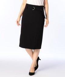 NOLLEY'S sophi/ベルト付バックサテンスカート/501162529