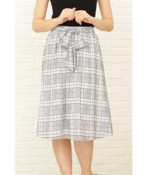 PROPORTION BODY DRESSING/カラーグレンチェックリボンギャザースカート/501167717