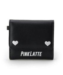 PINK-latte/ハートミニ財布/501170349