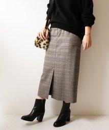 Spick & Span/ウールストレッチハイウエストスカート◆/501172217
