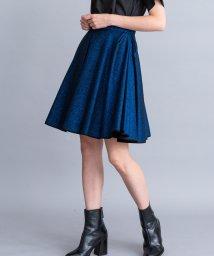 LANVIN en Bleu/【セットアップ対応商品】ラメツイルアシメスカート/LB0005354