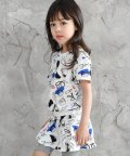 子供服Bee/ちょうちょ柄・花柄・コスメ柄総柄セットアップ/501157680