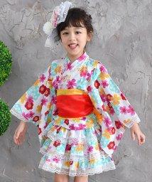 子供服Bee/選べる11柄 浴衣ドレス4点セット/501157683