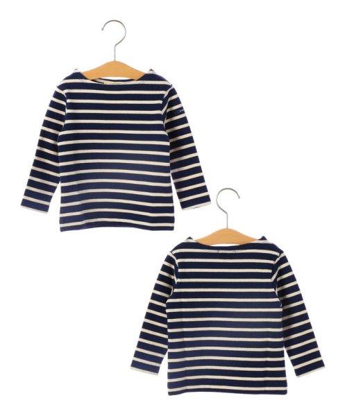 SHIPS KIDS(シップスキッズ)/SHIPS KIDS:マリン ボーダー ボートネック バスクシャツ(80~90cm)/512040354
