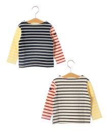 SHIPS KIDS/SHIPS KIDS:マリン ボーダー ボートネック バスクシャツ(80~90cm)/501173129