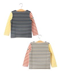 SHIPS KIDS/SHIPS KIDS:マリン ボーダー ボートネック バスクシャツ(100~130cm)/501173133
