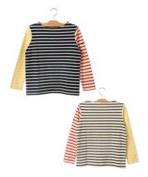 SHIPS KIDS/SHIPS KIDS:マリン ボーダー ボートネック バスクシャツ(145~160cm)/501173135