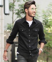 JIGGYS SHOP/無地 ネル ウエスタンシャツ / シャツ メンズ ネルシャツ 長袖シャツ/501174486