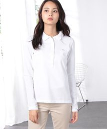 LACOSTE/ストレッチ ロングスリーブポロシャツ (長袖)/501168036