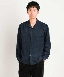 a.v.v (MEN)/【洗える】フェイクスウェードワイドシャツ[WEB限定サイズ]/501163204