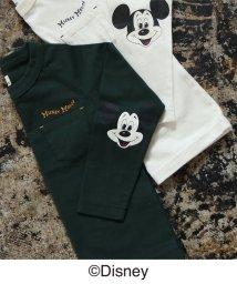 coen/【coen キッズ / ジュニア】コーエン限定Disney(ディズニー)MICKEY(ミッキー)ロングTシャツ(ロンT)/501081535