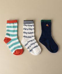 green label relaxing (Kids)/BOYS 3P SOX/501144410