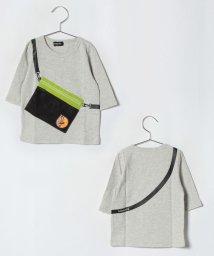 kladskap/サコッシュ付7分Tシャツ/501165893