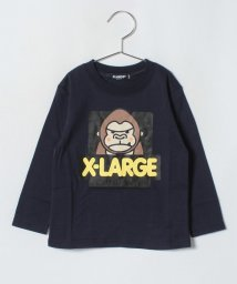 XLARGE KIDS/ファニーゴリラ LSTシャツ/501165905