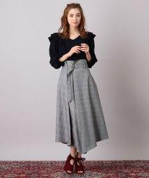 MIIA/タックアシンメトリースカート/501177218