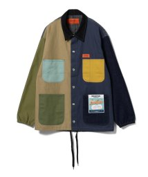 BEAMS MEN/UNIVERSAL OVERALL × BEAMS / 別注 Crazy Coverall Coach Jacket/501091756