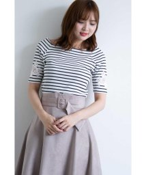 PROPORTION BODY DRESSING/スクエアボーダーカットソー/501167722
