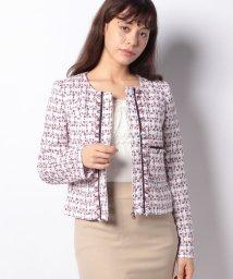 MISS J/TOURNIER サマーツイードジャケット/501171193
