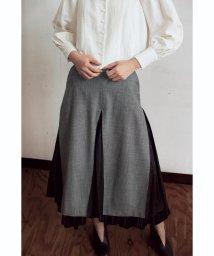 Ray BEAMS/RBS / プリーツ レイヤード スカート/501180232