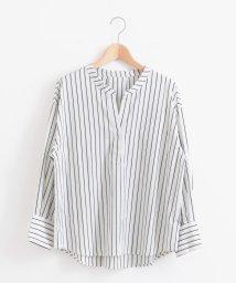 le.coeur blanc/タイプライタースキッパーシャツ/501051479