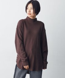 nano・universe/SPRiNG 12月号掲載【MIHO NOJIRI × nano・universe】FRUIT OF THE LOOM/別注サーマルモックネックロングトップス/501164972