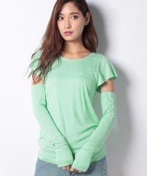 VacaSta Swimwear/【BENETTON】アームカバー付きフレアTシャツ/501164976