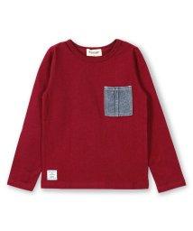 RADCHAP/デニムポケット長袖Tシャツ/501179954