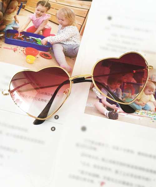 miniministore(ミニミニストア)/サングラス レディース ハート型 グラデーション めがね グラサン メガネ 眼鏡/1KALUN-001